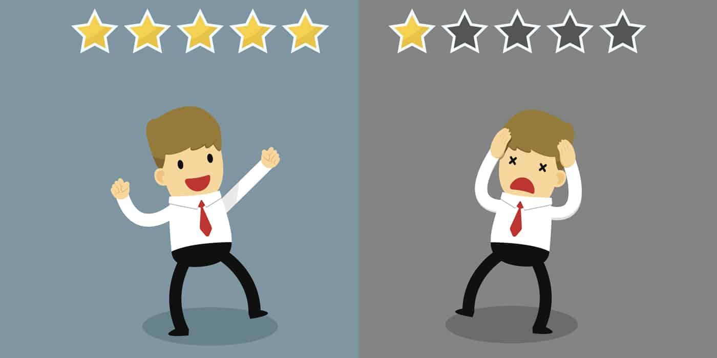 Service client satisfait durant coronavirus