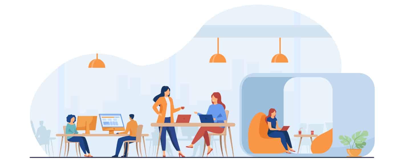 L'avantage du coworking