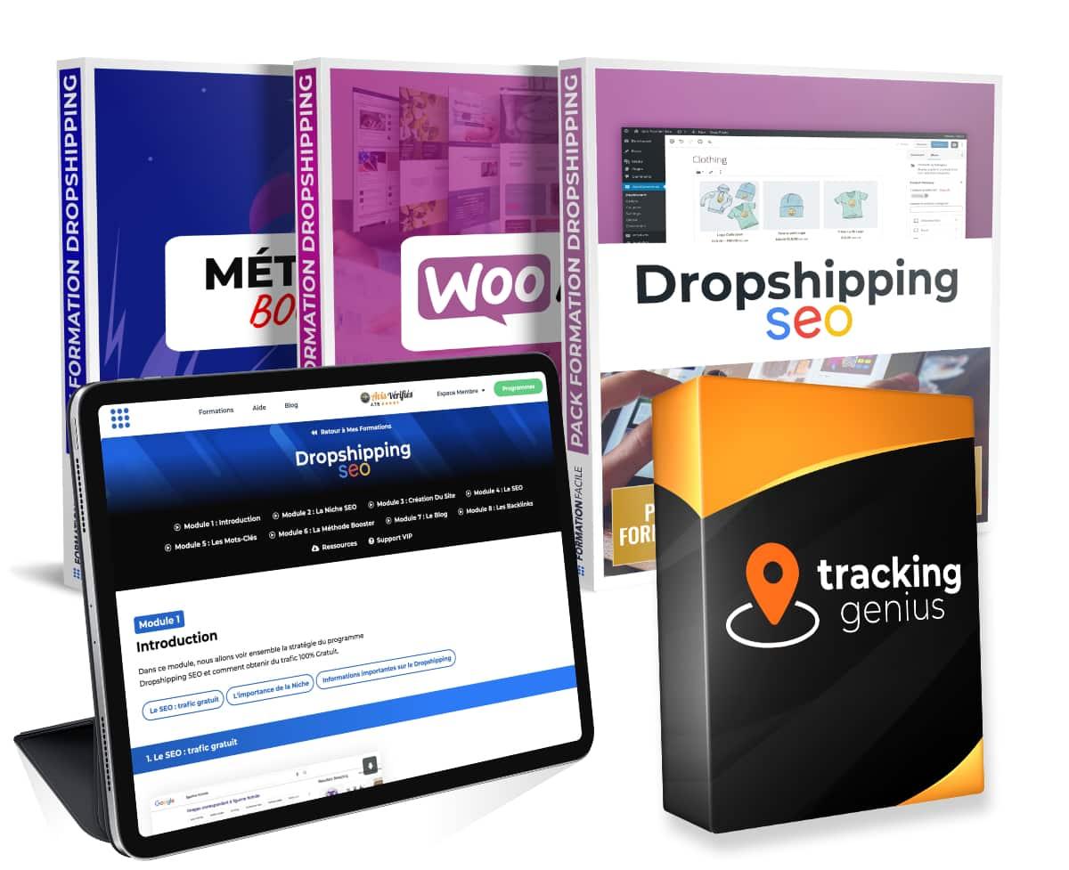 Pack méthode booster pour gagner sa vie sur internet