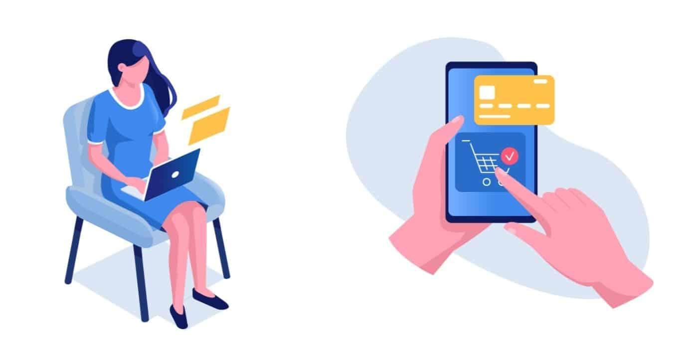 mode de paiement sur un site e-commerce