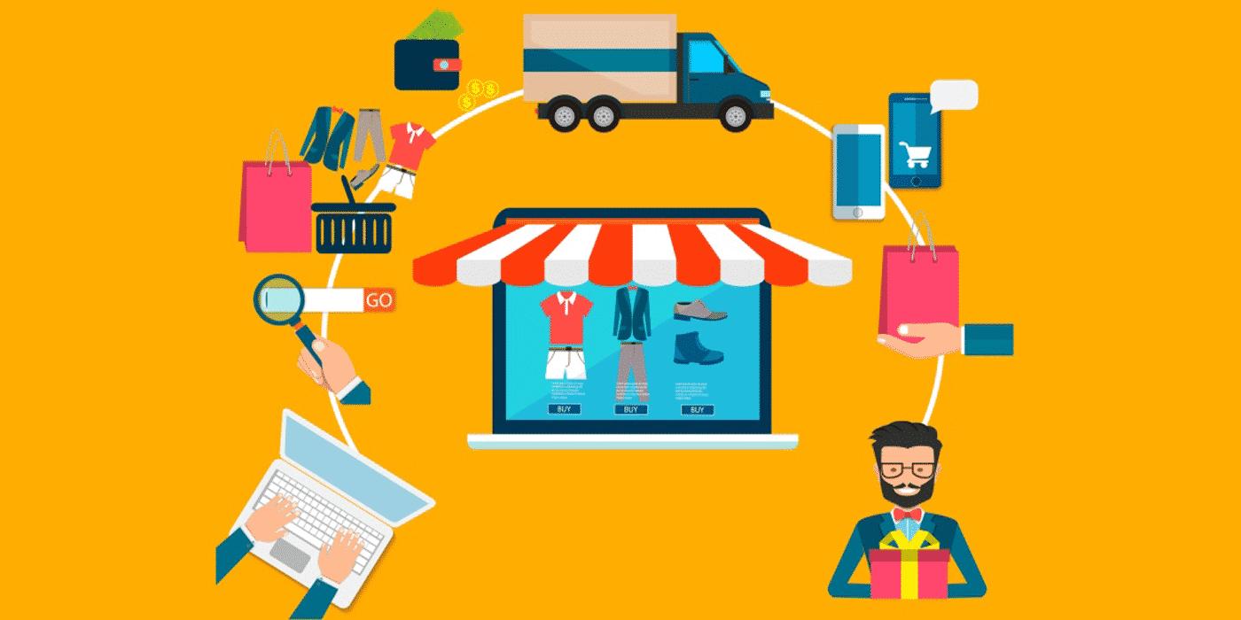 la création d'une boutique en ligne