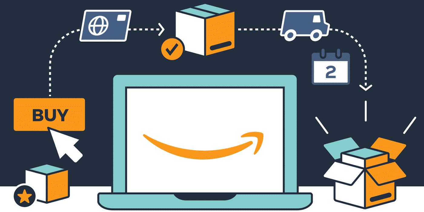 catalogue de produits Amazon