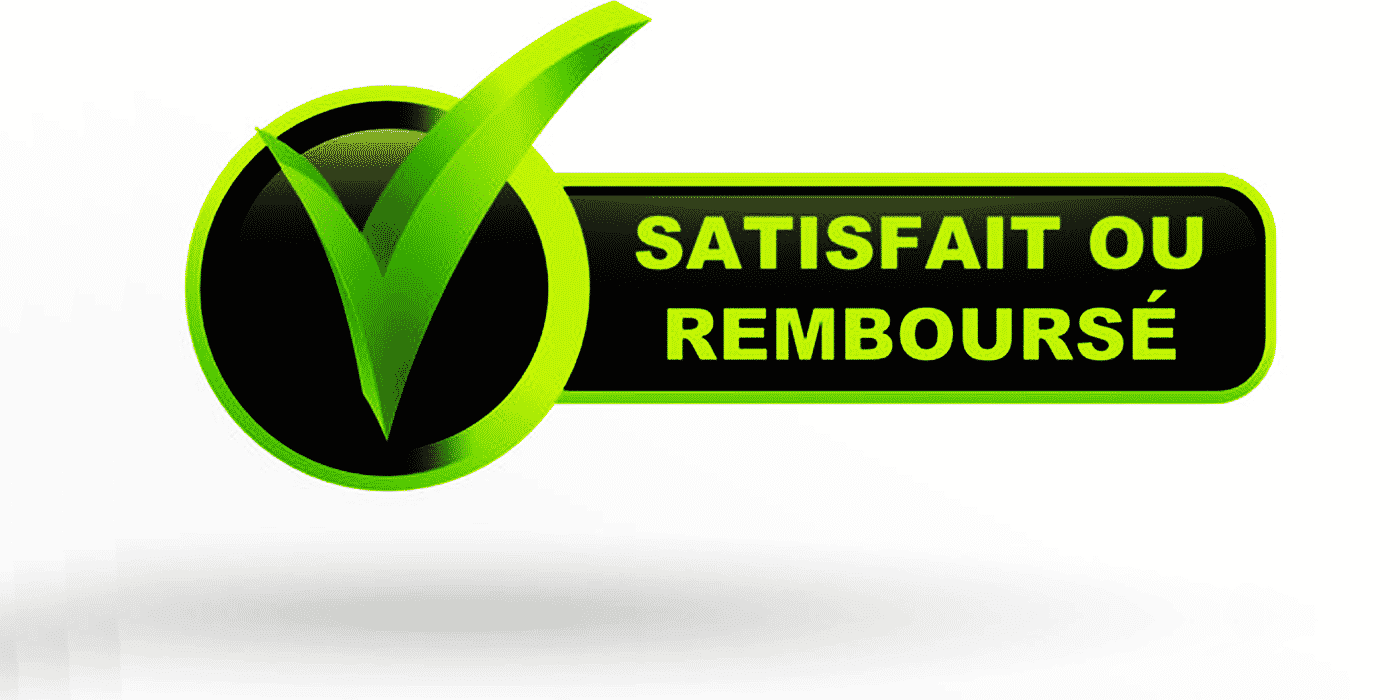 """La-mention-garantie """" satisfait ou remboursé """""""