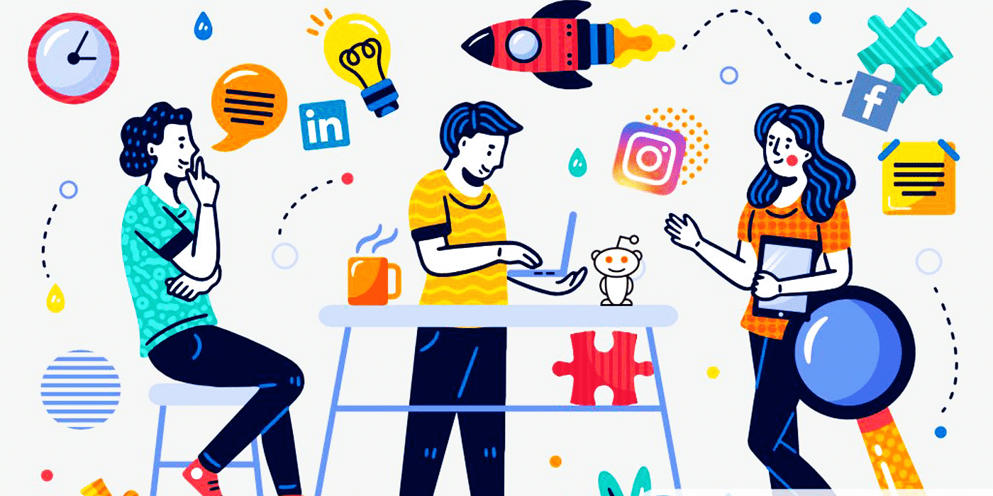 idées business social media