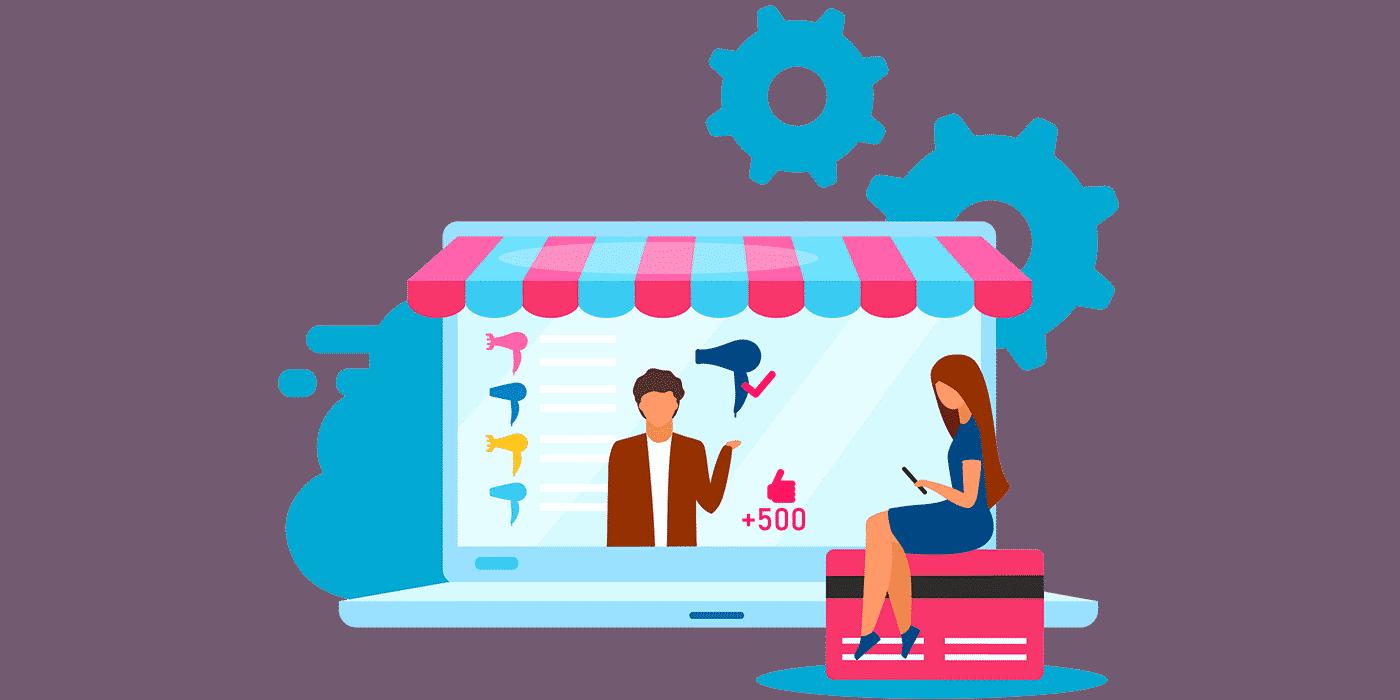 créer une boutique mono produit