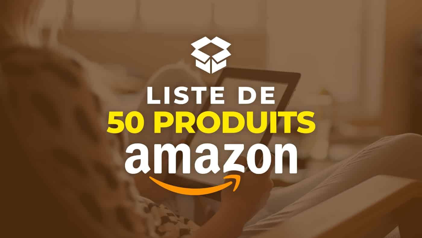 Ebook Liste de 50 produits Amazon